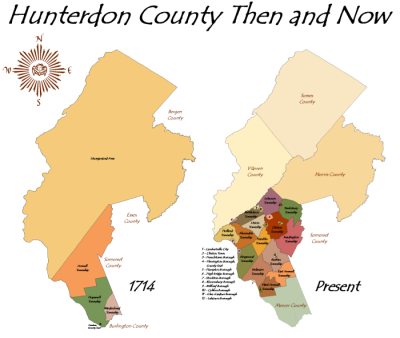 Hunterdon - Then and Now!!