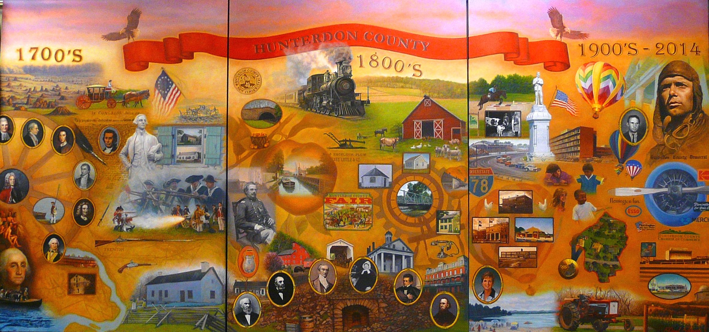 Hunterdon county tricentennial celebration